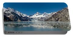 Johns Hopkins Glacier In Glacier Bay Portable Battery Charger