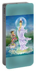 Joining Palms Kuan Yin Portable Battery Charger by Lanjee Chee