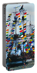Jose Gasparilla Ship Work B Portable Battery Charger