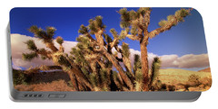 Joshua Tree Morning In Red Rock Canyon Portable Battery Charger