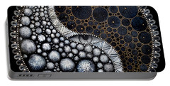 Portable Battery Charger featuring the digital art Self Awareness by James Lanigan Thompson MFA
