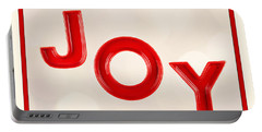Portable Battery Charger featuring the photograph Joy To The World by Vizual Studio