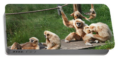 Joyful Monkey Family Portable Battery Charger