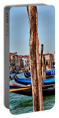 Joyride-venice Italy Portable Battery Charger by Tom Prendergast