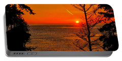 Juan De Fuca Sunset Portable Battery Charger