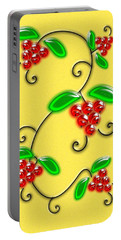 Juicy Berries Portable Battery Charger