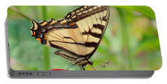 July Swallowtail Portable Battery Charger by MTBobbins Photography