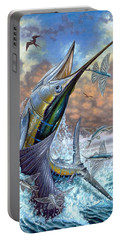 Jumping Sailfish And Flying Fishes Portable Battery Charger