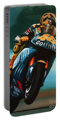 Jumping Valentino Rossi  Portable Battery Charger