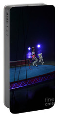 Portable Battery Charger featuring the photograph Jumprope With Fido by Robert Meanor