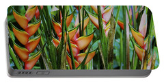 Jungle Flowers Portable Battery Charger