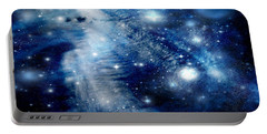 Just Beyond The Moon Portable Battery Charger by Janice Westerberg
