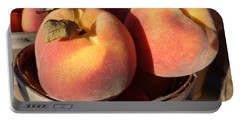 Just Peachy Portable Battery Charger by Joseph Skompski
