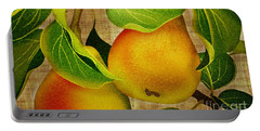 Portable Battery Charger featuring the photograph Just Pears by Judy Palkimas