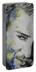 Justin Timberlake...02 Portable Battery Charger by Chrisann Ellis