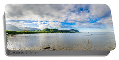 Kahaluu Fish Pond Panorama Portable Battery Charger