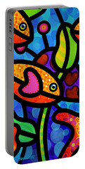 Kaleidoscope Reef Portable Battery Charger