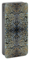 Kaleidoscope - Shingles 1 Portable Battery Charger by Andy Shomock