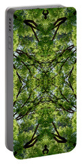 Kaleidoscope - Trees 1-1 Portable Battery Charger