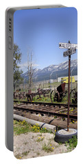 Kalispell Crossing Portable Battery Charger by Fran Riley
