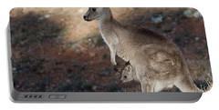 Kangaroo And Joey Portable Battery Charger