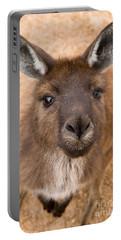 Kangaroo Island Kangaroo Portable Battery Charger by Marie Read