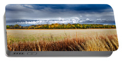 Kansas Fall Landscape Portable Battery Charger