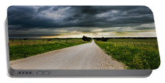 Kansas Storm In June Portable Battery Charger