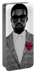 Kanye West  Portable Battery Charger by Dan Sproul