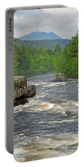 Katahdin And Penobscot River Portable Battery Charger
