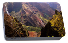 Portable Battery Charger featuring the photograph Kauai Colors by Katie Wing Vigil