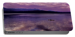 Portable Battery Charger featuring the photograph Kayak On Dabob Bay by Greg Reed