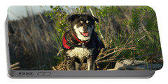 Portable Battery Charger featuring the photograph Kayaker's Best Friend by James Peterson