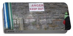 Keep Out Aran Islands Ireland Portable Battery Charger