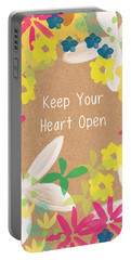 Keep Your Heart Open Portable Battery Charger