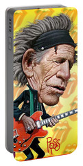 Keith Richards Portable Battery Charger