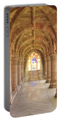 Kelso Abbey Stained Glass Portable Battery Charger