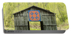 Kentucky Barn Quilt - Happy Hunting Ground Portable Battery Charger