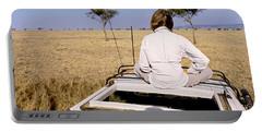 Kenya, Maasai Mara, Safari Portable Battery Charger