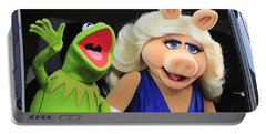 Kermit Takes Miss Piggy To The Movies Portable Battery Charger