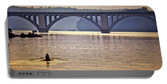 Key Bridge Rower Portable Battery Charger
