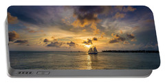 Key West Florida Sunset Mallory Square Portable Battery Charger
