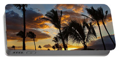 Portable Battery Charger featuring the photograph Kihei At Dusk by Peggy Hughes