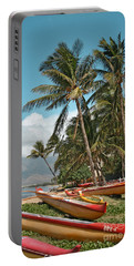 Portable Battery Charger featuring the photograph Sugar Beach Kihei Maui Hawaii by Sharon Mau