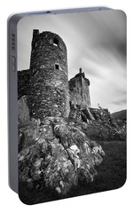 Kilchurn Castle Walls Portable Battery Charger by Dave Bowman