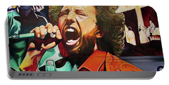 Portable Battery Charger featuring the painting Killing In The Name by Joshua Morton