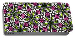 Portable Battery Charger featuring the digital art Kind Of Cali-lily by Elizabeth McTaggart