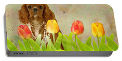 King Charles Cavalier Spaniel Portable Battery Charger