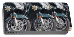 King County Police Motorcycle Portable Battery Charger