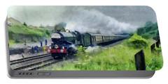 'king George V' Locomotive Portable Battery Charger
